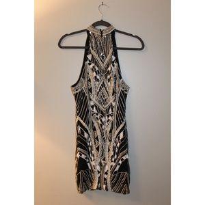 Parker Dresses - Parker Gatsby High Neck Cocktail Dress